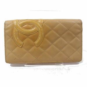 Auth Chanel Zippy Wallet #2874C14B